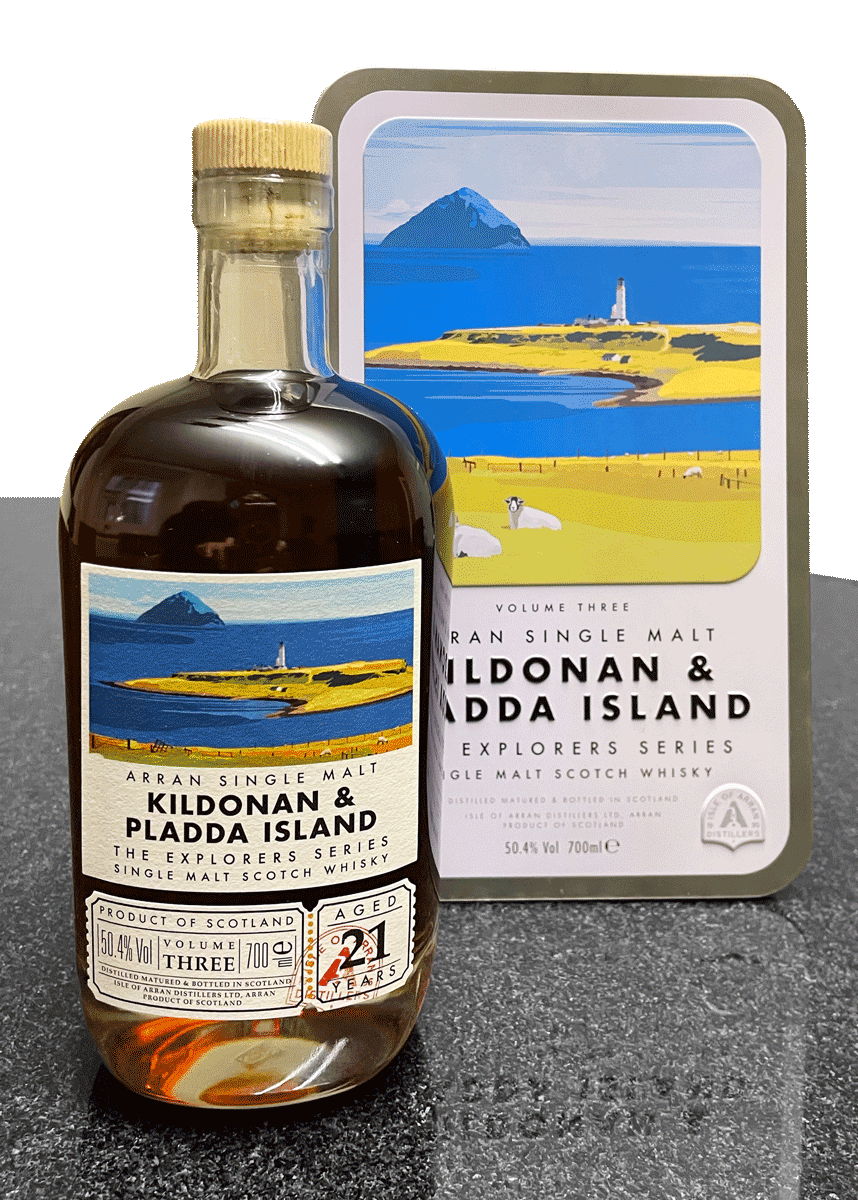 Arran Kildonan & Pladda Island – Explorers Series Volume Three