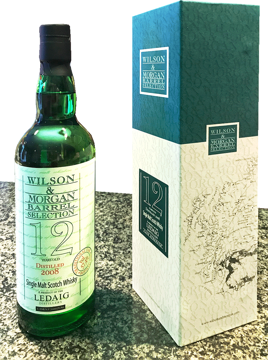 Wilson & Morgan, Ledaig, 12 years, 2008